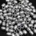 Beads, Acrylic, Metallic colour, Cylindrical, 9mm x 7mm x 7mm, 8g, 40 Beads, (SLZ0206)